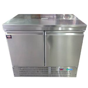 Two Door Refrigerated Table