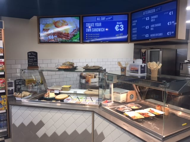 Hot and cold deli centra kilbarrack