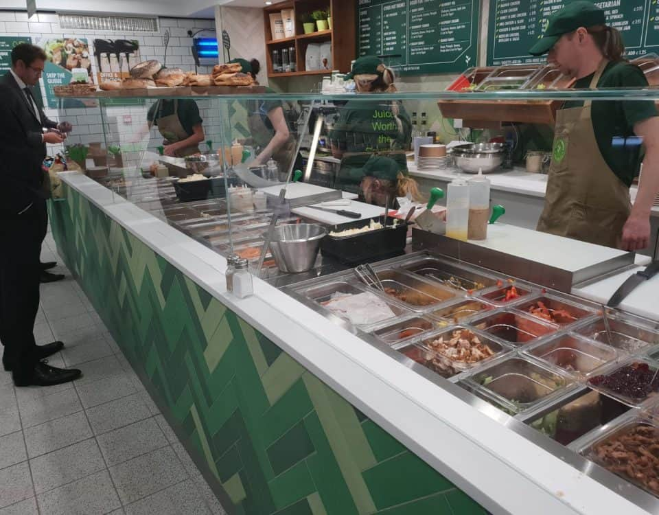 Square Glass Deli Display Counters Ventnors Greenhouse