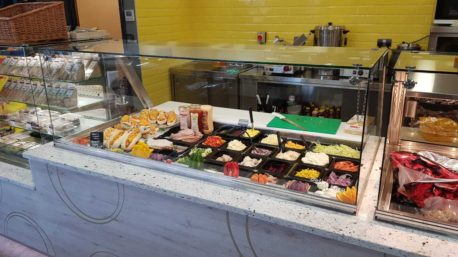 Martin Food Equipment Cold-Deli-Unit-1 Gala at The Brink, Navan, Co. Meath Installations