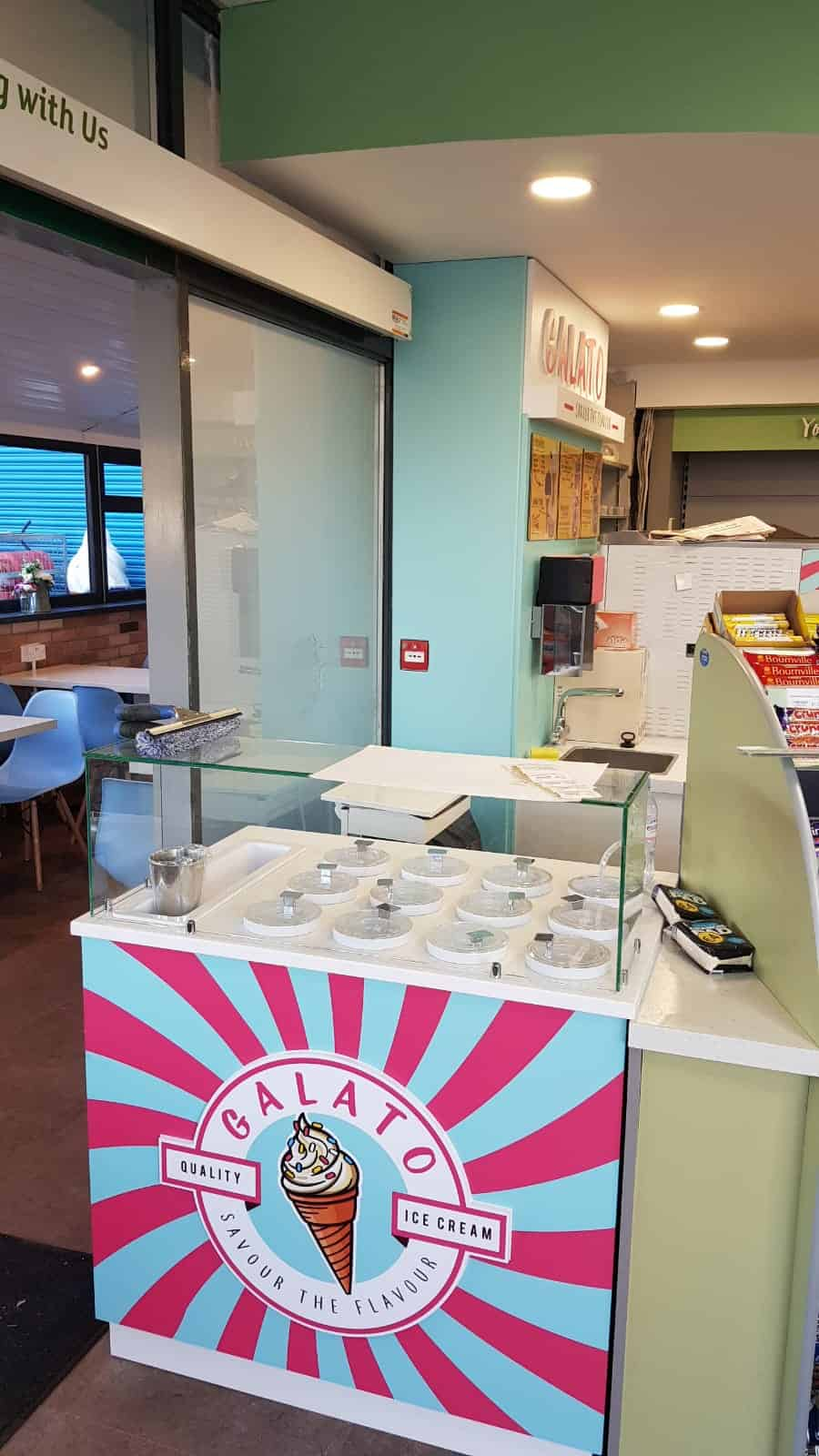 Martin Food Equipment Galato-Ice-Cream-Station-Toppings-Counter Gala at The Brink, Navan, Co. Meath Installations
