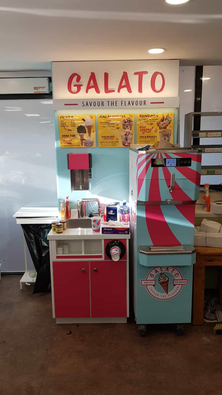 Martin Food Equipment Galato-Ice-Cream-Station Gala at The Brink, Navan, Co. Meath Installations