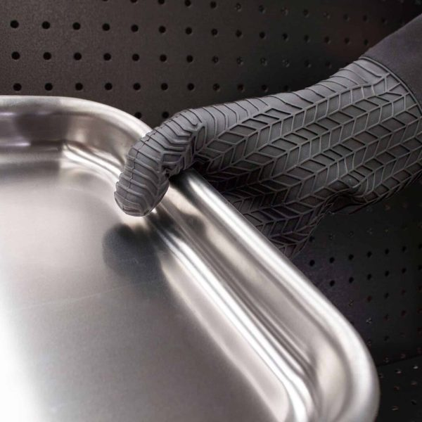 Multipurpose Silicon Oven Gloves Holding Tray
