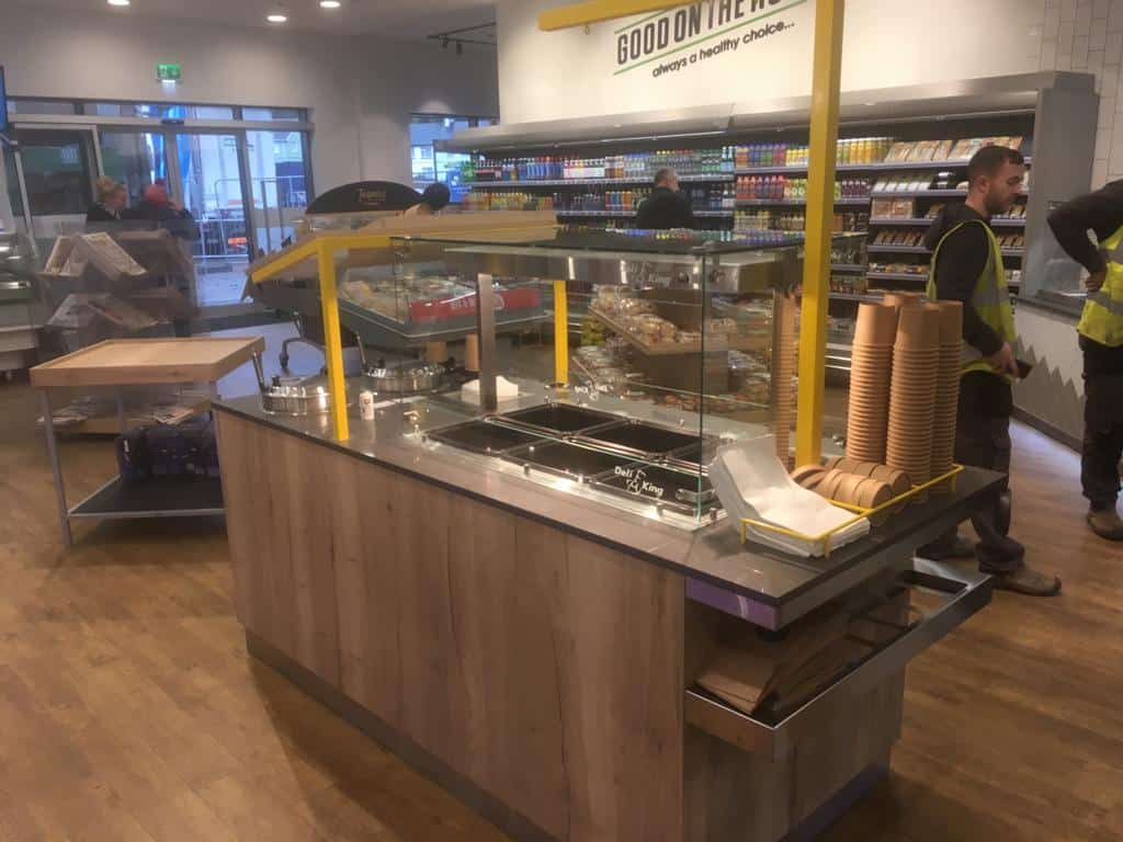 Martin Food Equipment Self-Serve-Hot-Unit Lilley's Centra, Enniskillen, Fermanagh Installations