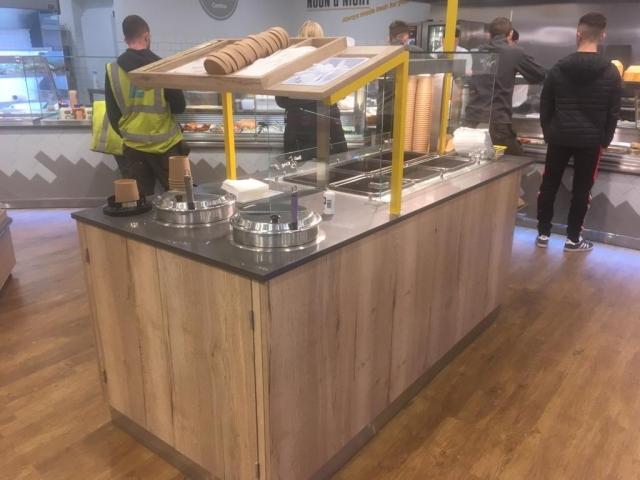 Martin Food Equipment Self-Serve-Island-Unit-With-Soup-Kettles-640x480 Lilley's Centra, Enniskillen, Fermanagh Installations