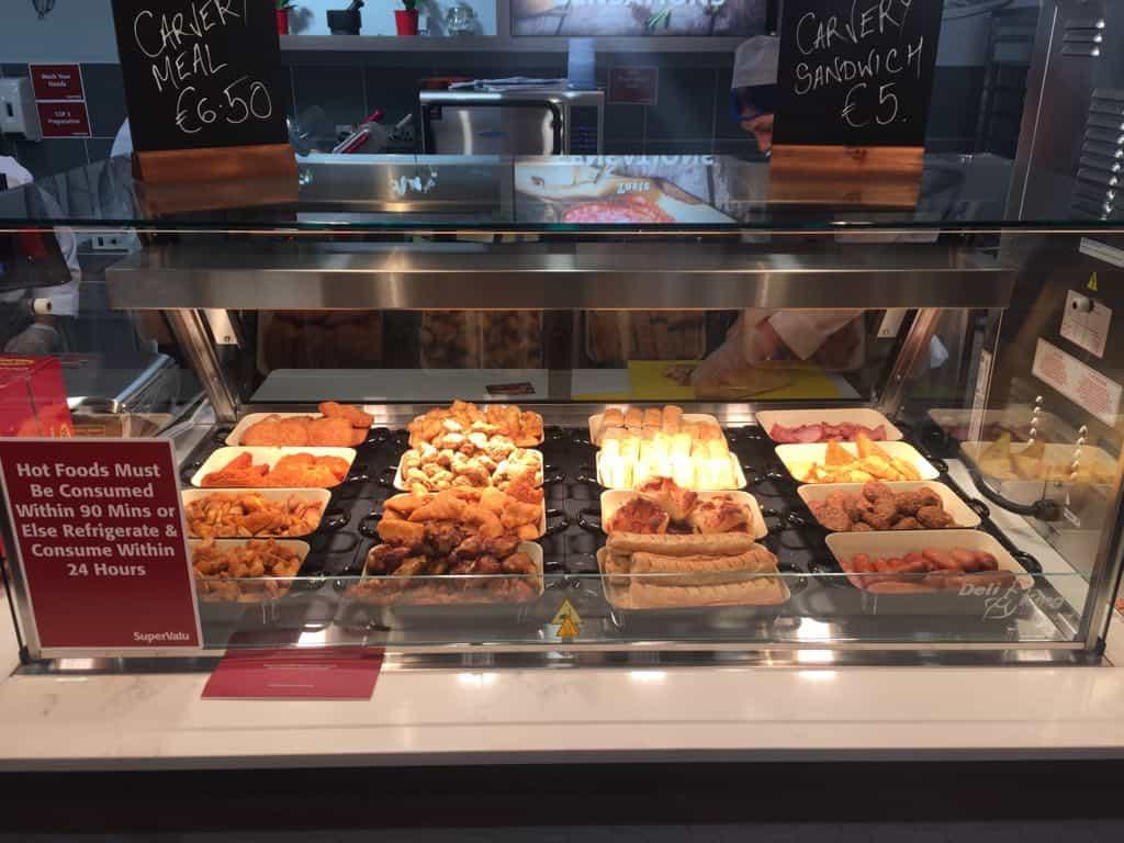 Martin Food Equipment Self-serve-hot-display- Supervalu Springfield, Tallaght, Dublin Installations