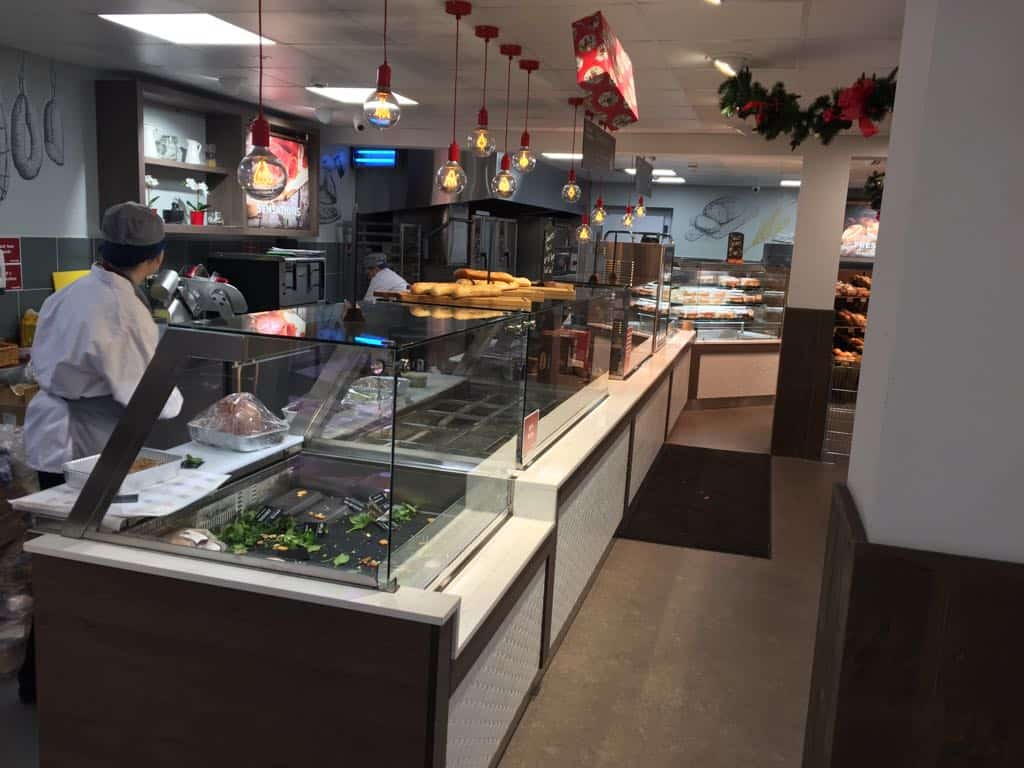 Martin Food Equipment Square-Glass-Deli-Display Supervalu Springfield, Tallaght, Dublin Installations