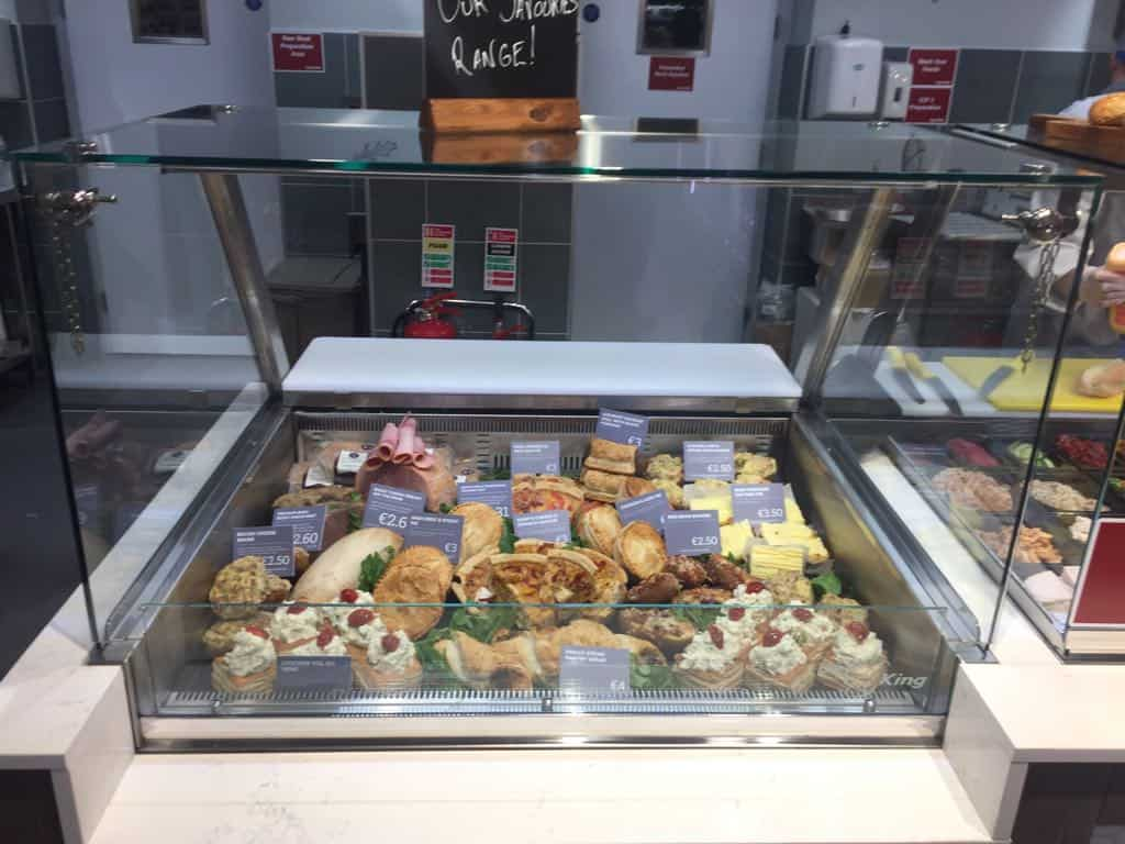 Martin Food Equipment Square-glass-chilled-display-unit Supervalu Springfield, Tallaght, Dublin Installations