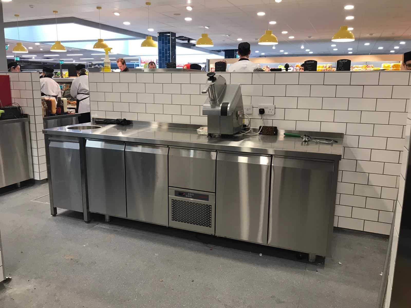 Martin Food Equipment Back-Work-Area McHugh's Centra, Greendale, Kilbarrack, Dublin Installations