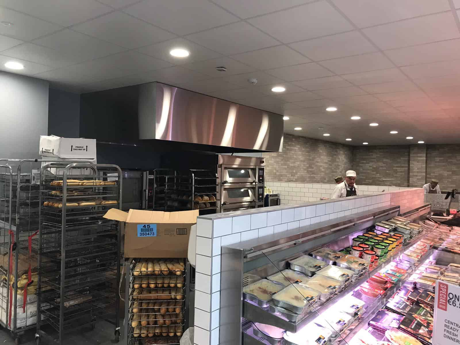 Martin Food Equipment Bakery-Area McHugh's Centra, Greendale, Kilbarrack, Dublin Installations