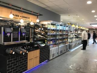 Martin Food Equipment Coffe-and-Snack-Area-320x240 McHugh's Centra, Greendale, Kilbarrack, Dublin Installations