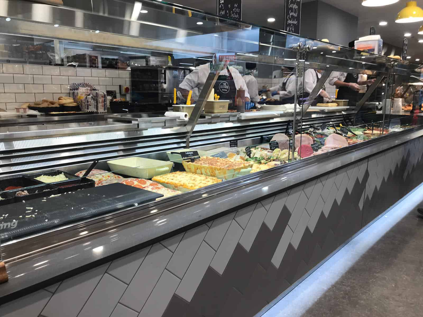 Martin Food Equipment Cold-Display-Counter McHugh's Centra, Greendale, Kilbarrack, Dublin Installations