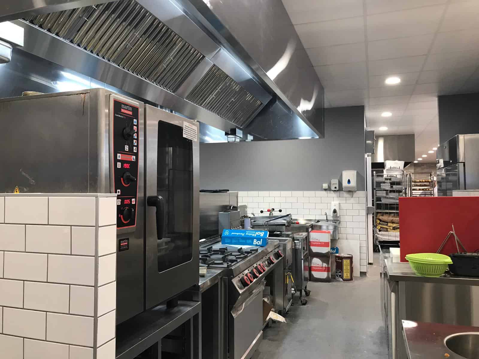 Martin Food Equipment Cooking-Line McHugh's Centra, Greendale, Kilbarrack, Dublin Installations