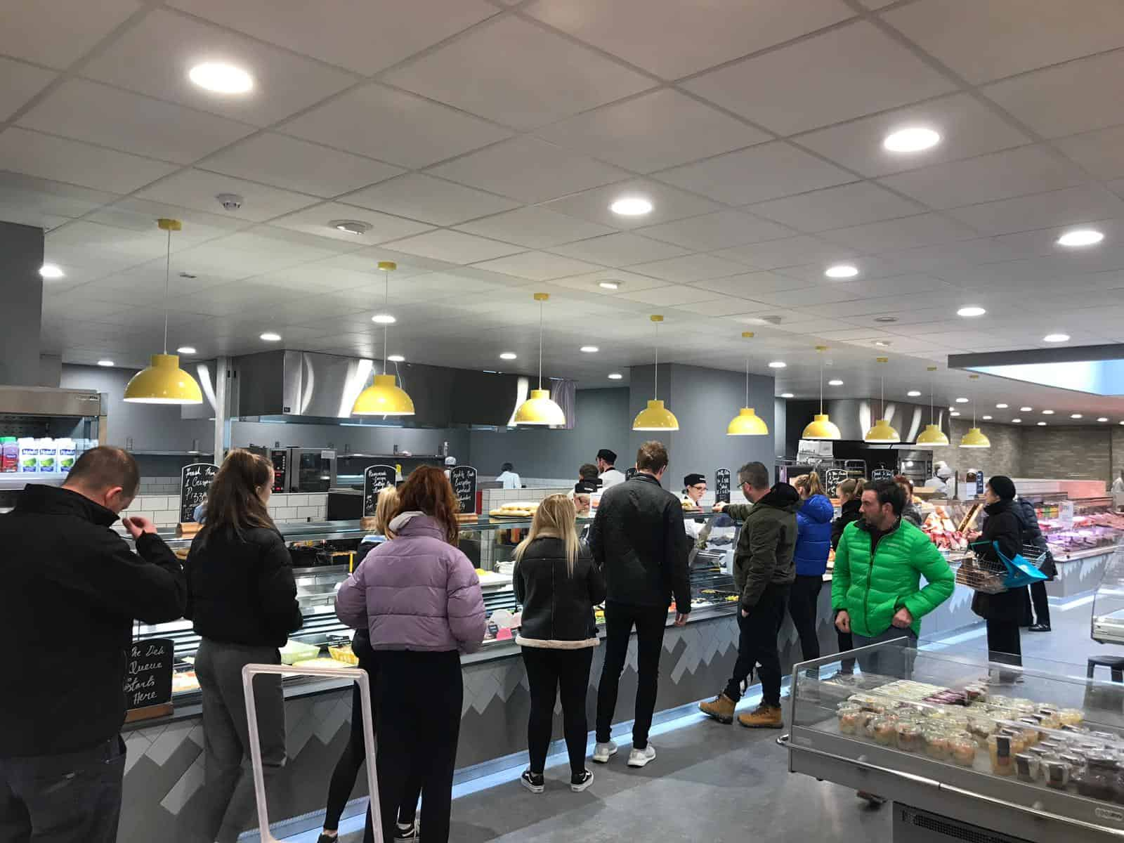 Martin Food Equipment Deli-Area-Centra-Greendale-Kilbarrack McHugh's Centra, Greendale, Kilbarrack, Dublin Installations