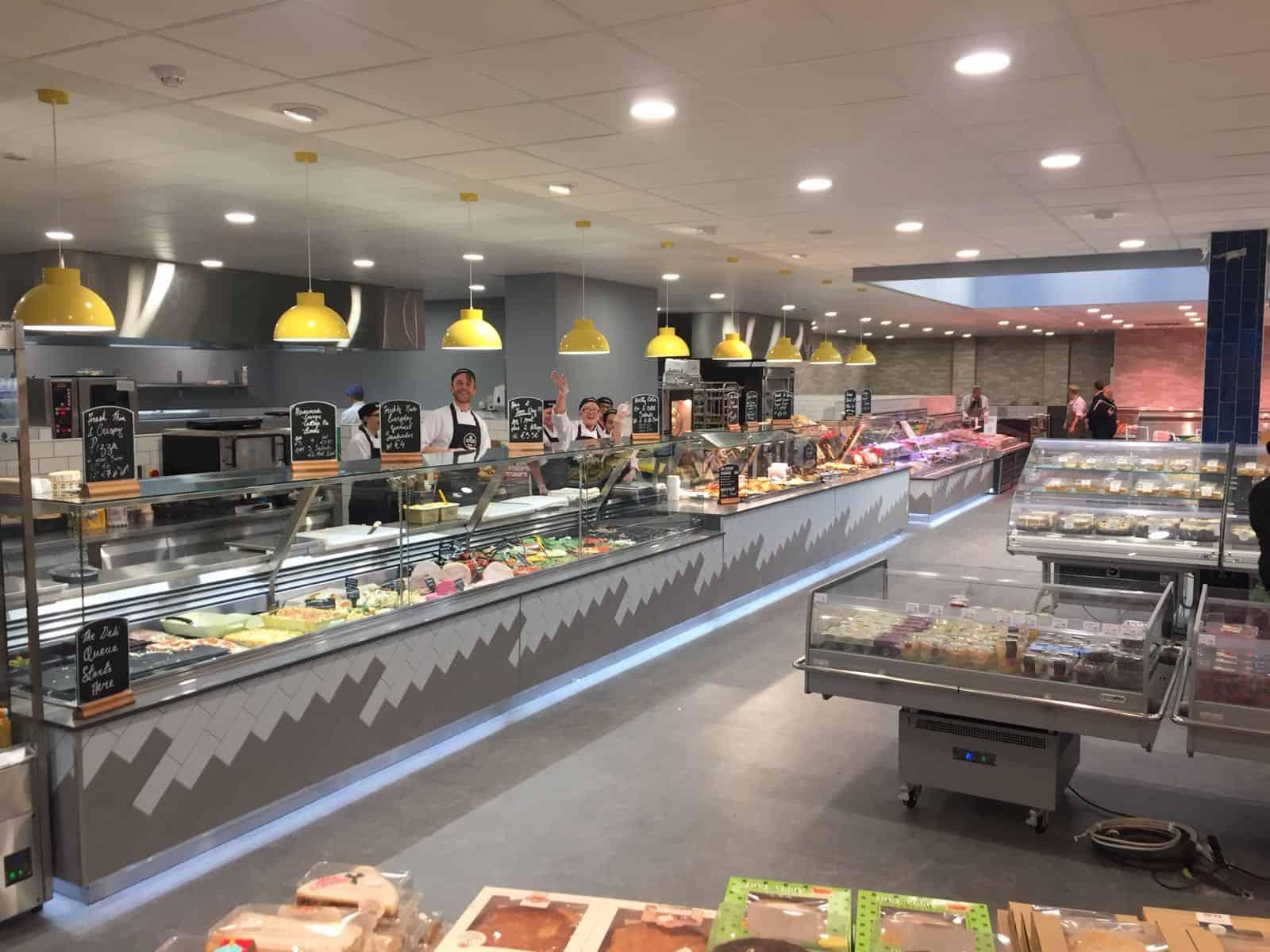 Martin Food Equipment Deli-Area-at-McHughs-Centra-Greendale-Kilbarrack McHugh's Centra, Greendale, Kilbarrack, Dublin Installations