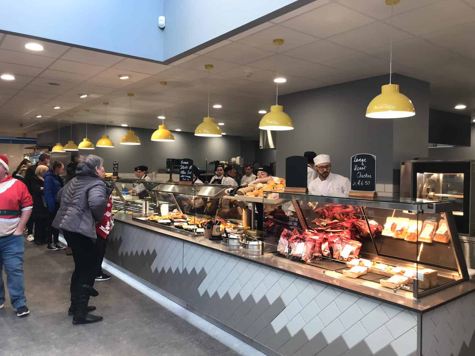 Martin Food Equipment Hot-Deli-Counter McHugh's Centra, Greendale, Kilbarrack, Dublin Installations