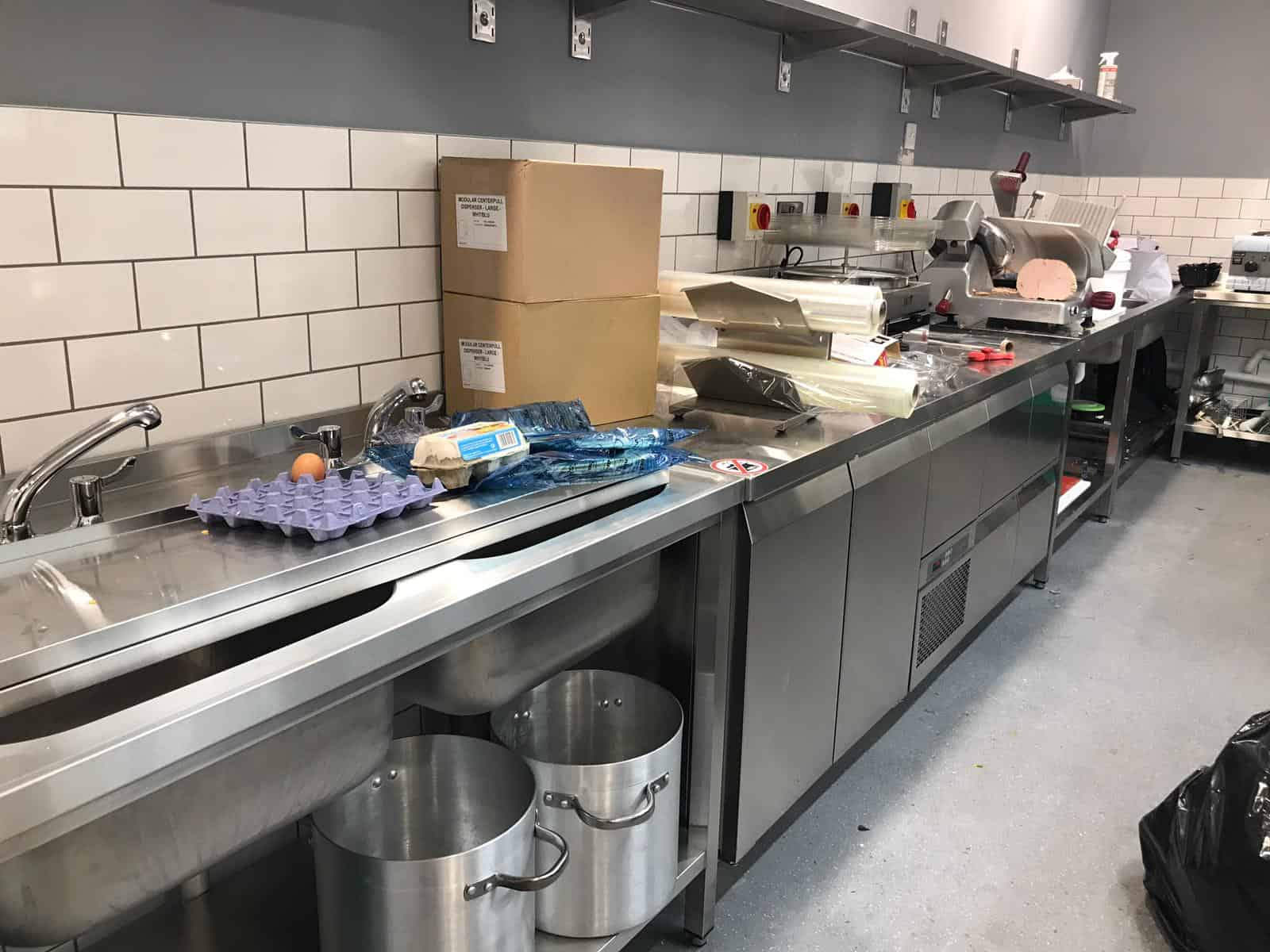 Martin Food Equipment Prep-Area McHugh's Centra, Greendale, Kilbarrack, Dublin Installations