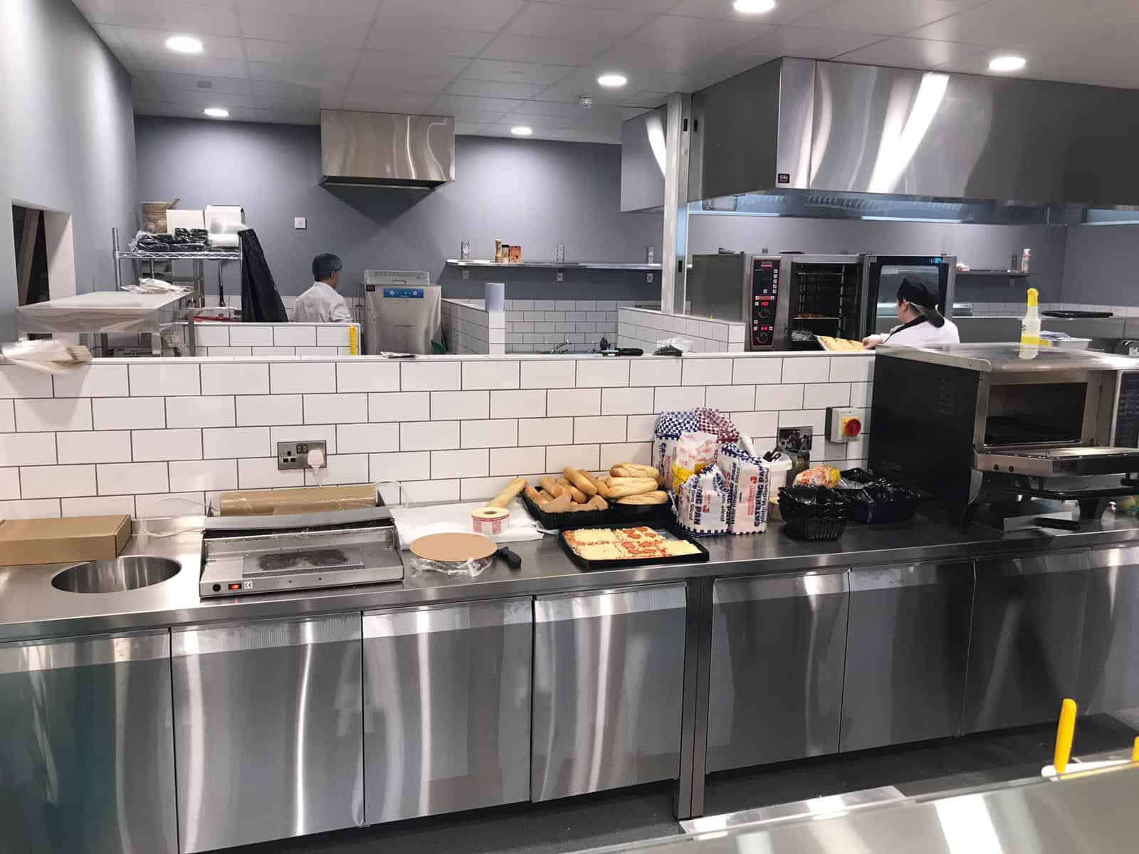 Martin Food Equipment Work-Counter-and-Prep-Area McHugh's Centra, Greendale, Kilbarrack, Dublin Installations