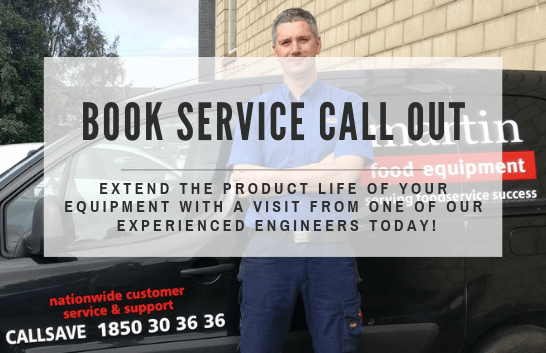 Martin Food Equipment BOOK-SERVICE-CALL-OUT-1 Home