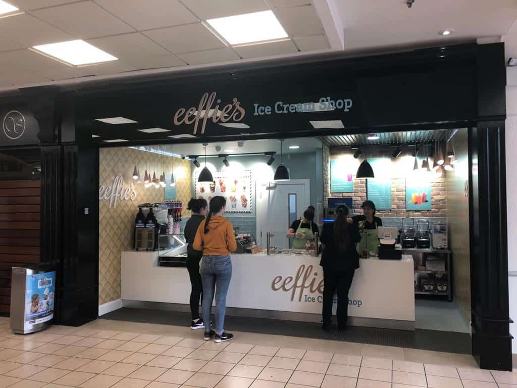 Martin Food Equipment a779729d-5f40-4bb7-bbbe-7c9a08016a87 Eeffies Ice Cream parlour Installations News