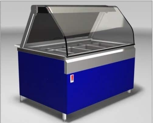 Martin Food Equipment Deli-kitchen-cold-1 Deli Kitchen Cold 4 Well (Recon)