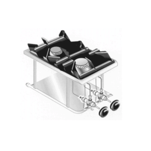 Martin Food Equipment Image_15371-300x300 Mareno PCGD-41L LPG2 Ring Drop In Hob
