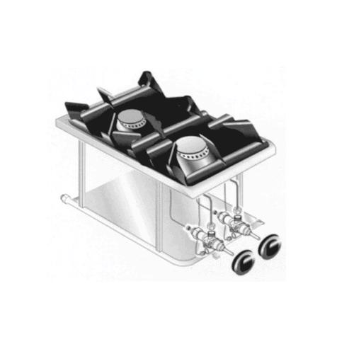 Martin Food Equipment Image_15371 Mareno PCGD-41L LPG2 Ring Drop In Hob